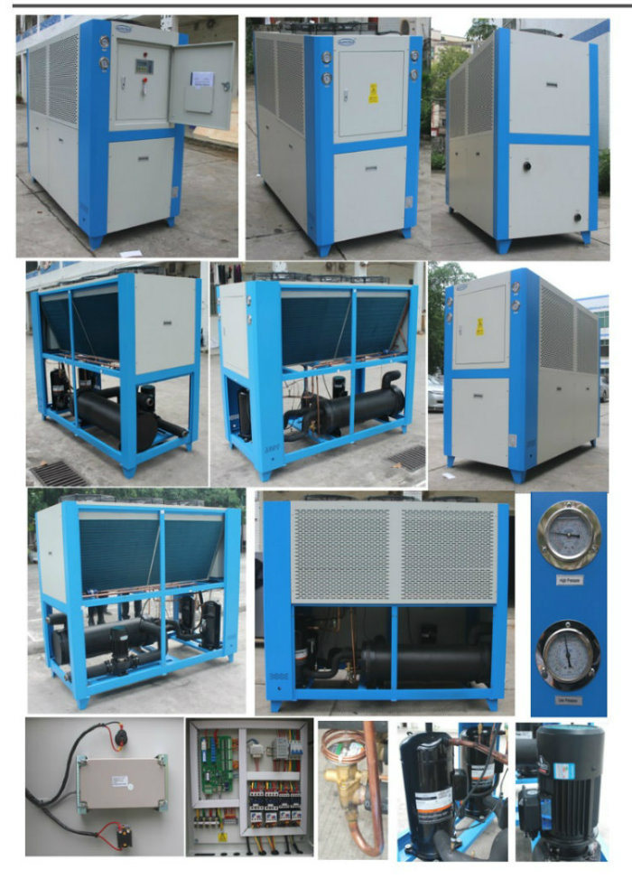 Ce Industrial Air Cooled Water Chiller for Plastic Industry