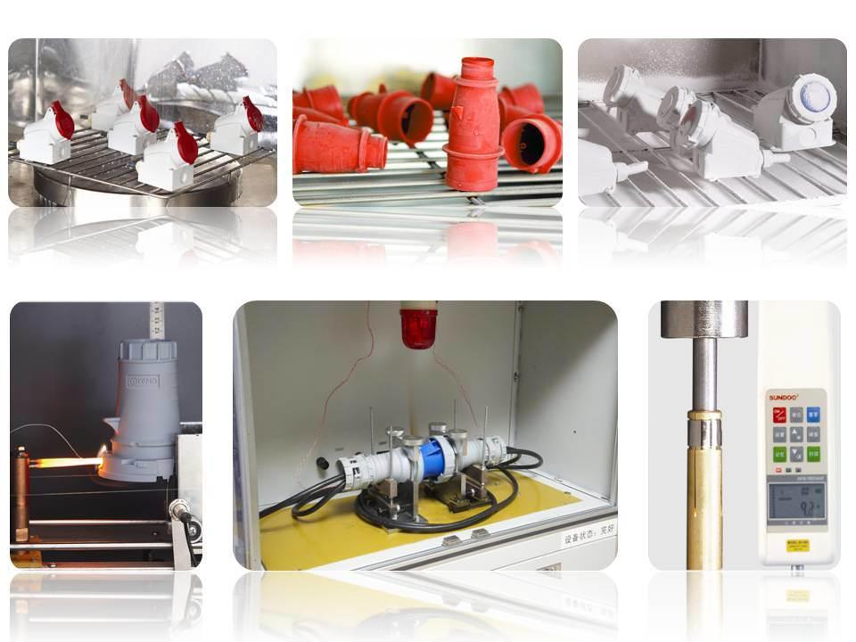 Cee International Standard Plug for Industrial Application