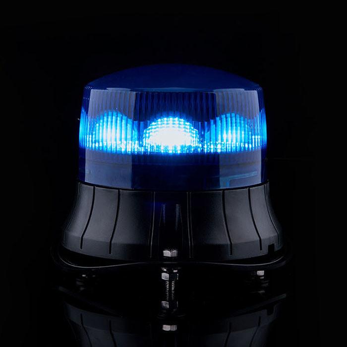 Senken IP 65 and ECE R65 12V/24V Flash LED Light Rotating Strobe Warning Flashing Beacon for Police and Other Vehicles