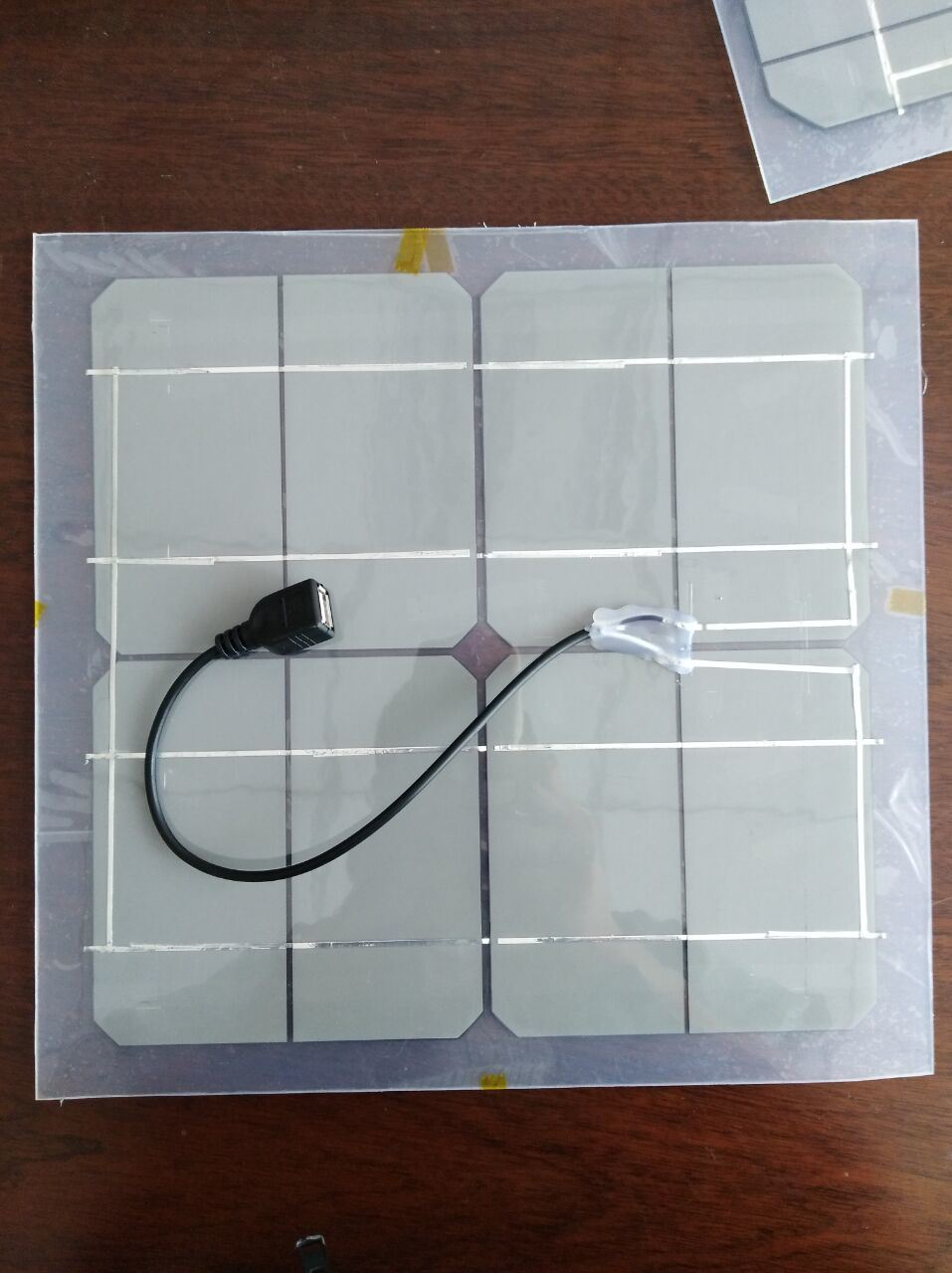 Transparent Soft Solar Panel China Fans Wiring Size Usb Wire Output Female Plug1m Size5502802mm Transparent4 Holes With Copper Pinsoptional Eva Pet Usd160 Pc