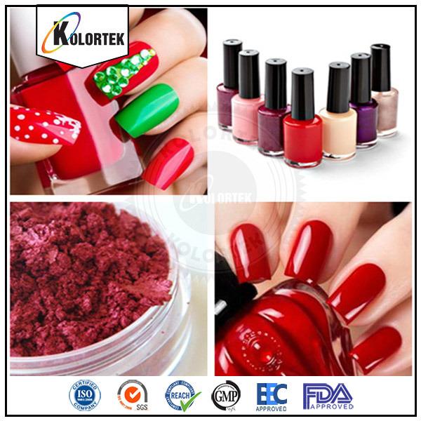 Esmalte de uñas Mica en polvo, calidad cosmética Pigmentos de efecto ...