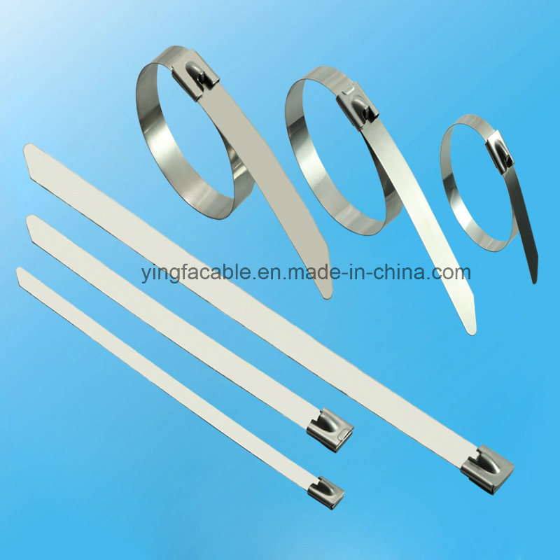 304 316 Stainless Steel Ball Lock Cable Ties for Heavy Duty