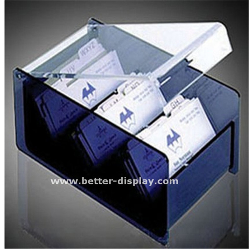Acrylic business card storage box btr h5002 china acrylic acrylic pen holder acrylic file shelves acrylic desk calendar rack acrylic notes box acrylic name card holder scotch tape dispenseracrylic stapler reheart Choice Image