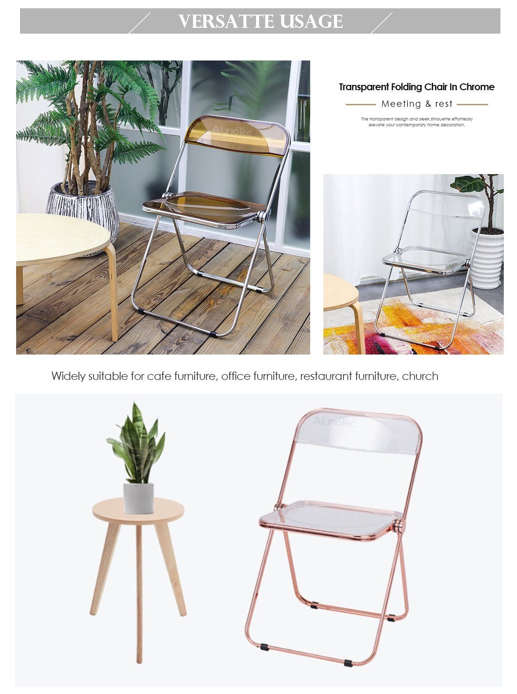 Italian Clear Plastic Metal Folding Chairs For Dining Kitchen Party Office China Chairs Chair Plastic Made In China Com
