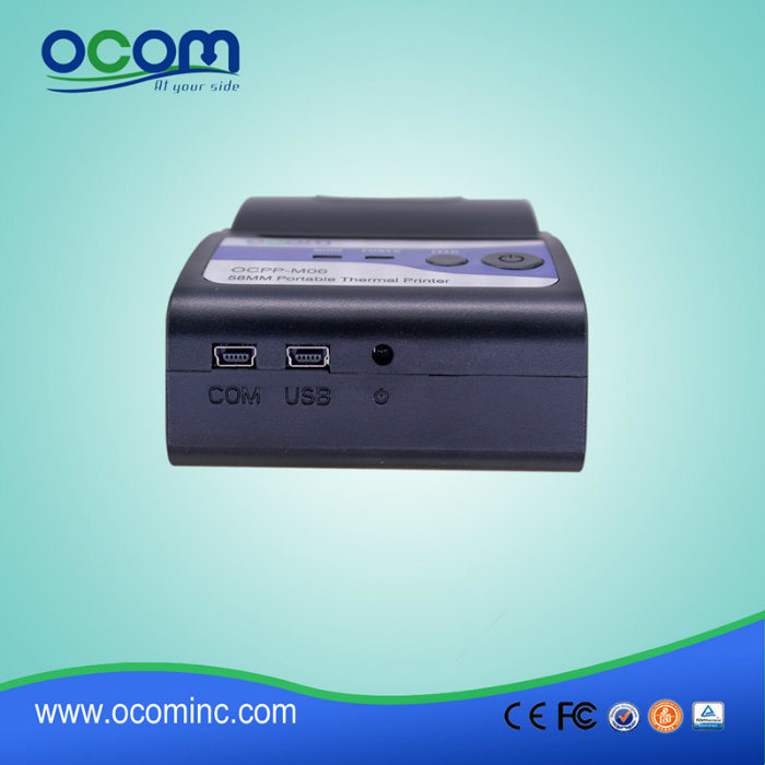 portable mobile thermal printer machine for receipt printing china