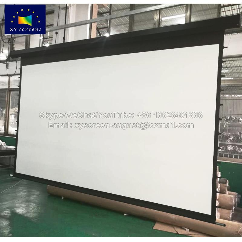 Las pantallas de xy perforada de plata de 3D pantalla proyector ...