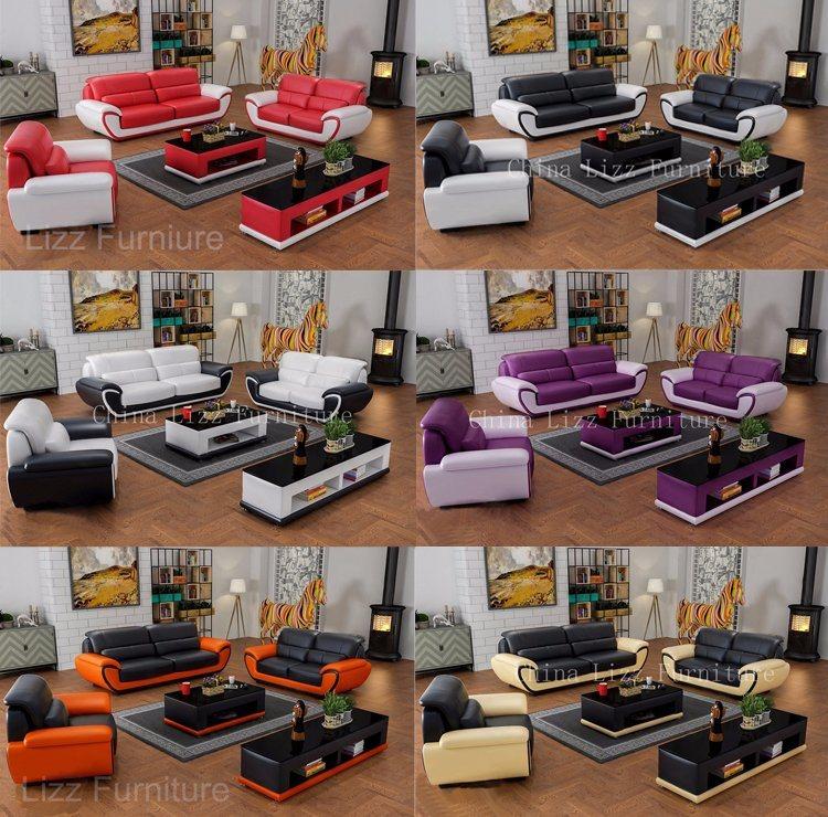 Moderno y Contemporáneo Divani Miami muebles sofás de cuero ...