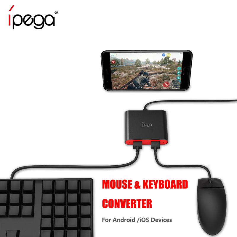 Fps Pubg Mobile Controller Game Keyboard & Mouse Convertor
