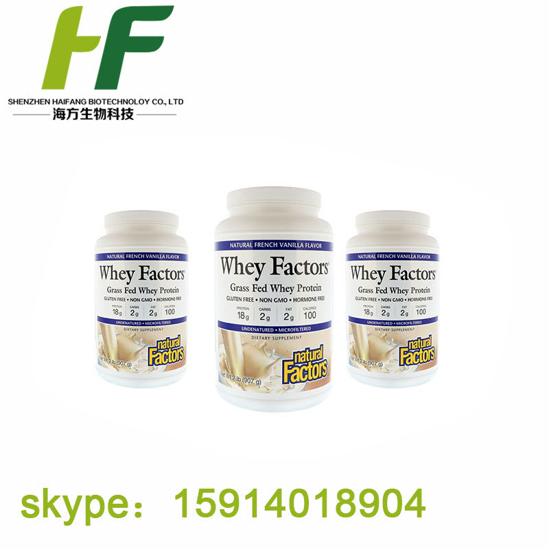 Natural Factors, Whey Factors, Grass Fed Whey Protein, Natural