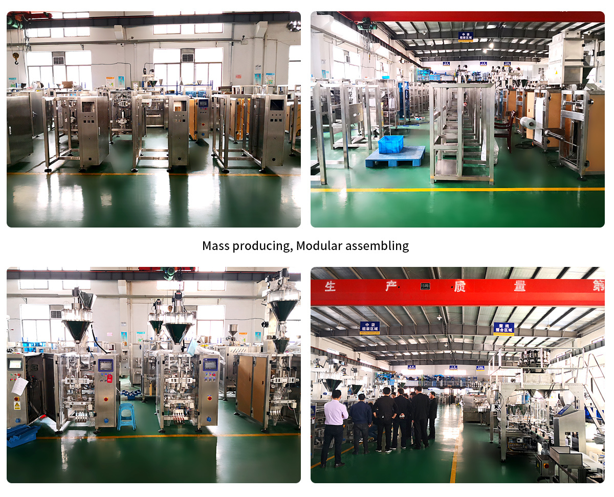 China Food Packaging Machine Manufacturer Wholesale Coffee Powder Pouch Filling Machine