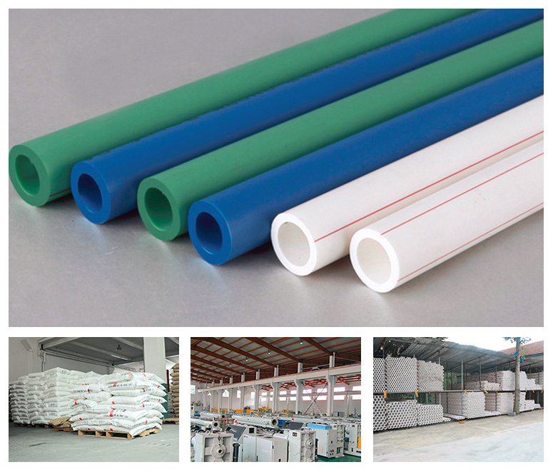 [Hot Item] Building Materials Plumbing Fittings Names Drinking Water Pipe  Cold and Hot Water PPR Pipe