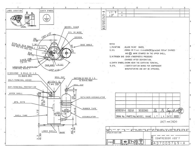 Panasonic Compressor Diagram - Wiring Diagram •