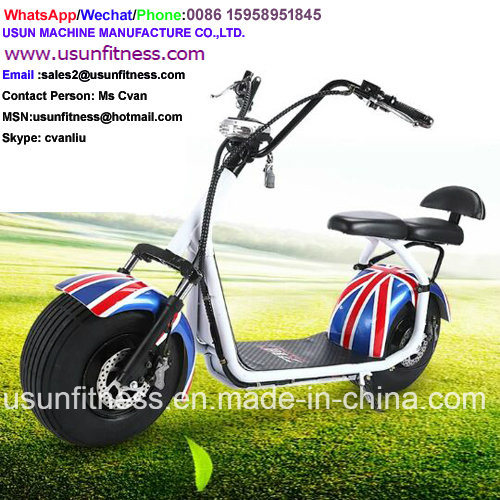 1500W / 60V/12-20ahfat Tire Electric Scooter City Coco with Factory Price