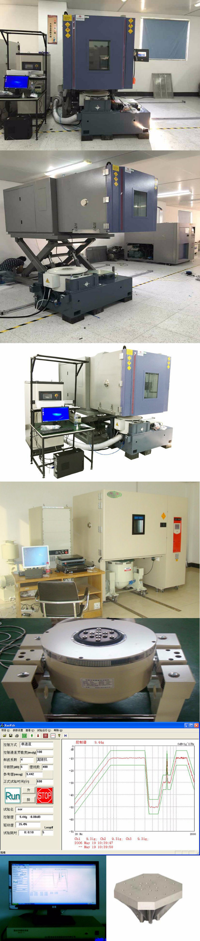 Heating Freezing Temperature Humidity and Vibration Combined Environmental Test Chamber