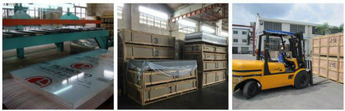Globond Aluminium Composite Panel Frpe002