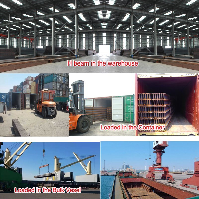 JIS High Quality Steel H Beam From Tangshan Manufacturer