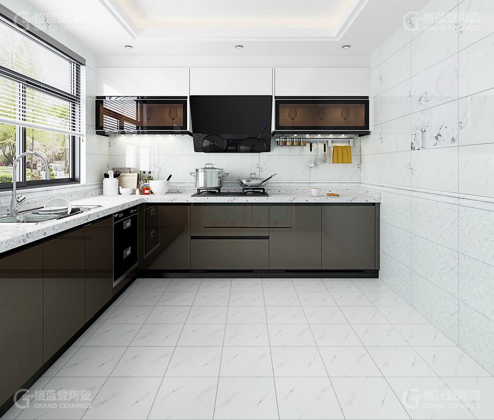 Rak Grey Kajaria Lanka Flower Design Ceramic Wall Floor Tiles Kitchen China Kitchen Kitchen Wall Tiles Made In China Com