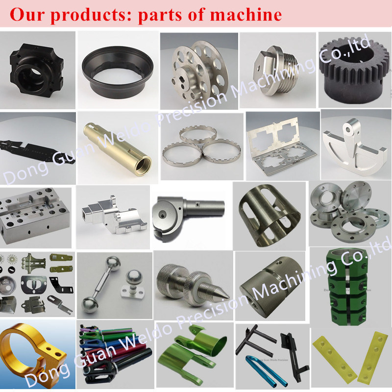 Precision Custom Plastic Metal Steel Turning Aluminium CNC Machining Part