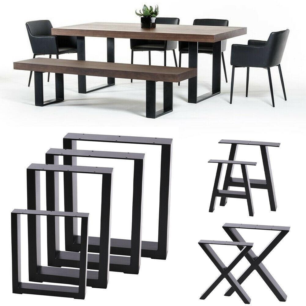 Table Legs Heavy Duty Furniture Frame, Dining Room Table Legs Metal