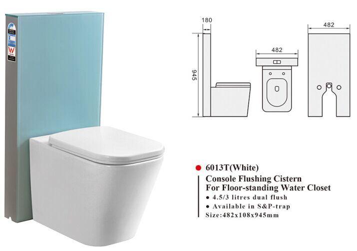 Novo produto de marca de gua da cisterna de vidro for Marcas de wc