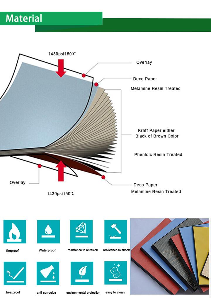 jialifu stable et durable solide panneau stratifi hpl. Black Bedroom Furniture Sets. Home Design Ideas