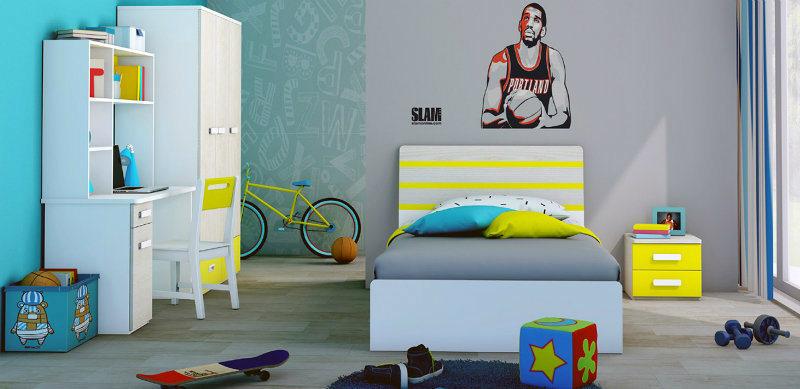 Los niños modernos populares coloridos muebles de dormitorio muebles ...