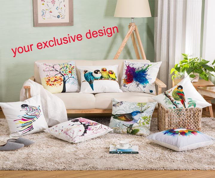 [Hot Item] Various Sublimation Pillow Case Cushion Cover