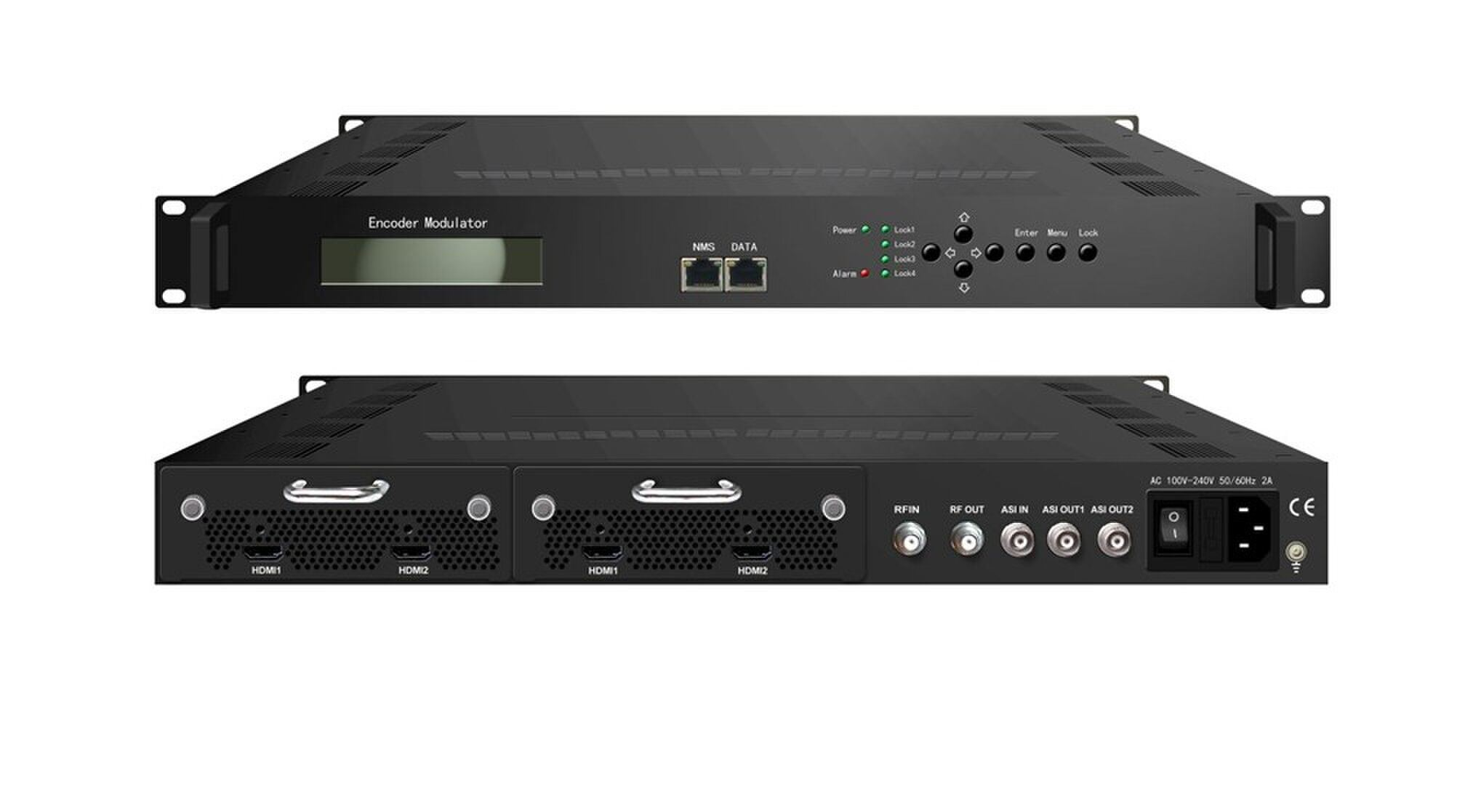 Up To 1920108050P 60P Supported MPEG4 HD 1920108050I 60I MPEG2 2 HDMI In For Backup 1ASI RF ISDB T Out