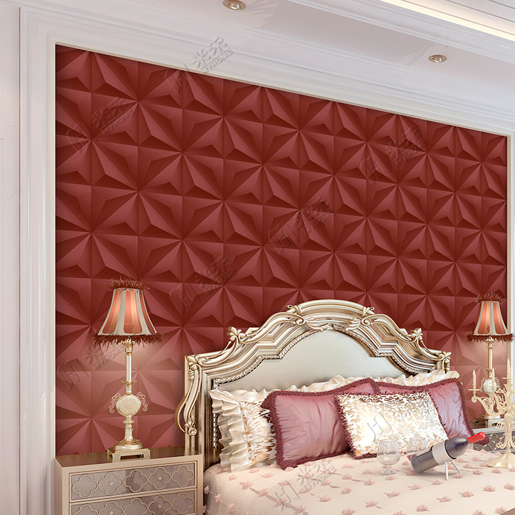 Modern Design Wall Paper Living Room Wall Decoration 3D PVC Vinyl Wallpaper