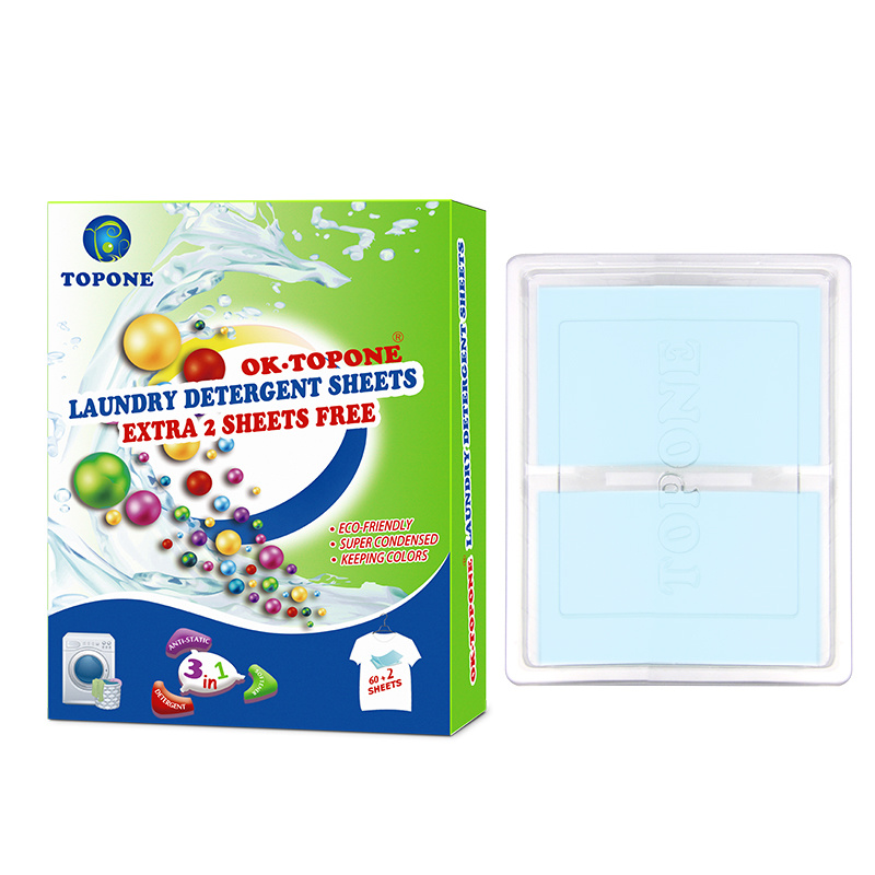 Ok. Topone Cloth Cleaner Soap Cleaning Laundry Detergent Sheet