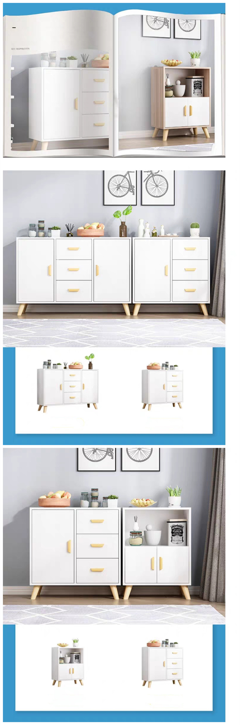 Chinese Furniture Wooden Legs Light Color Melamine Drawer Book Shelf Kitchen Cabinets China Furniture Modern Furniture Made In China Com