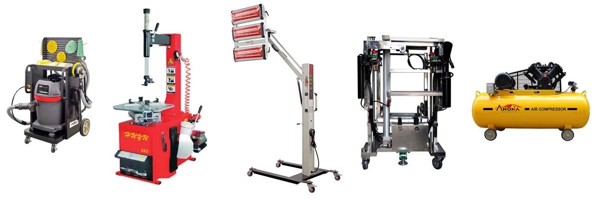 Sidewise Tilting Auto Body Collision Repair Frame Machine ...