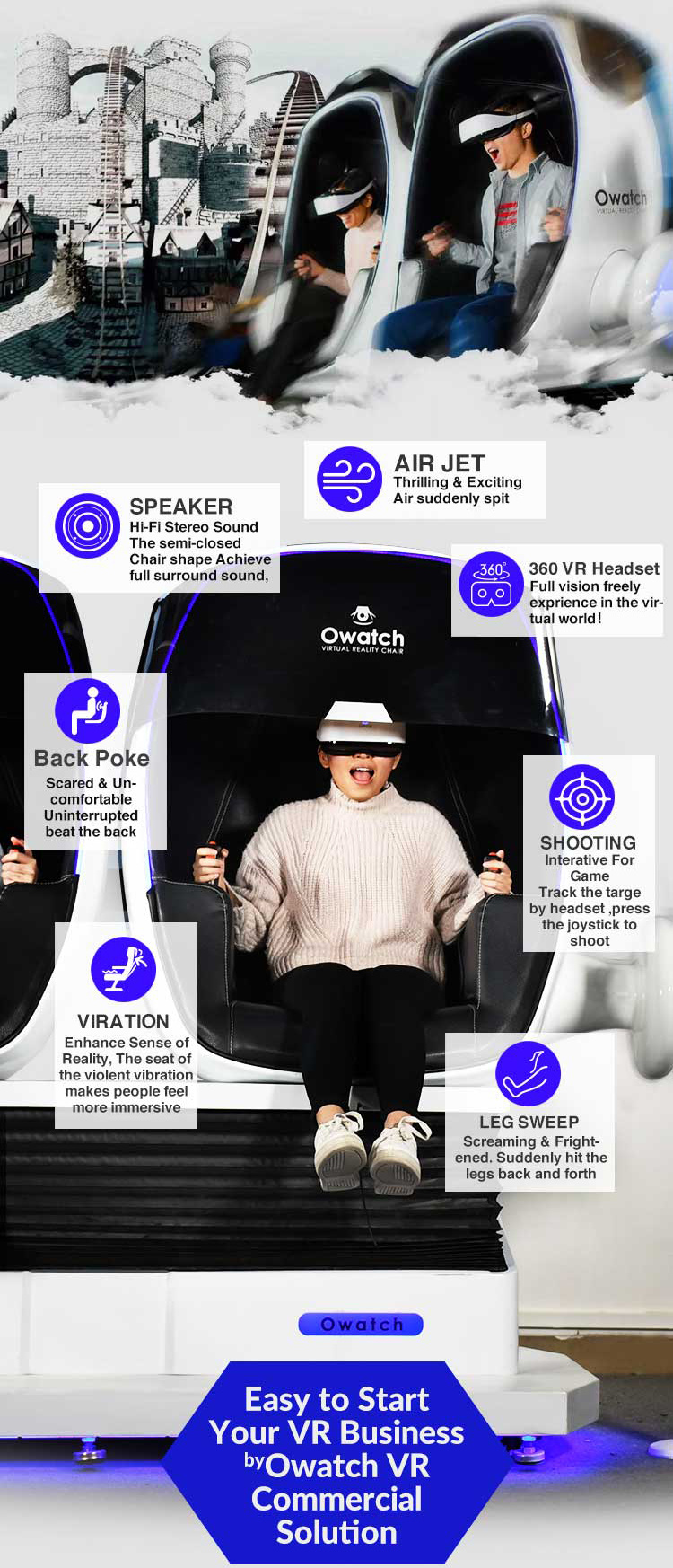 cb2bee3e259 Most Popular 9D Virtual Reality Chair in the market ! Your First Choice !