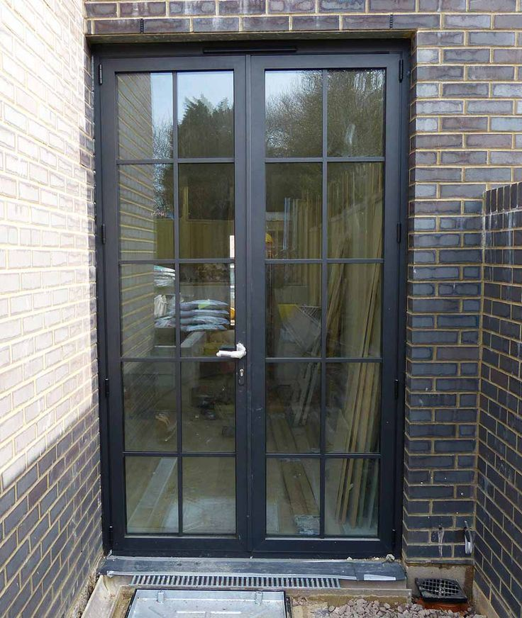 best sneakers 41cdf e87e7 Modern Popular Iron French Door with Double Pane Glass