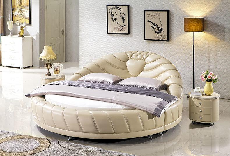 5#cama redonda Antigua cama de madera redonda – 5#cama redonda ...