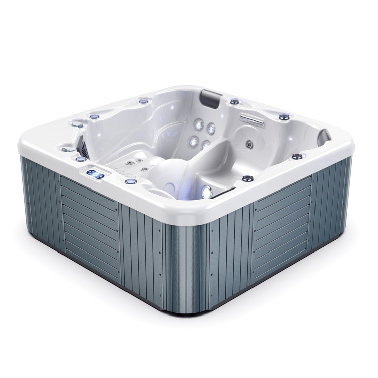 5 Person 34 Jet Whirlpool Massage Outdoor Spa Jacuzzi China Outdoor Jacuzzi Outdoor Jacuzzi Price Made In China Com
