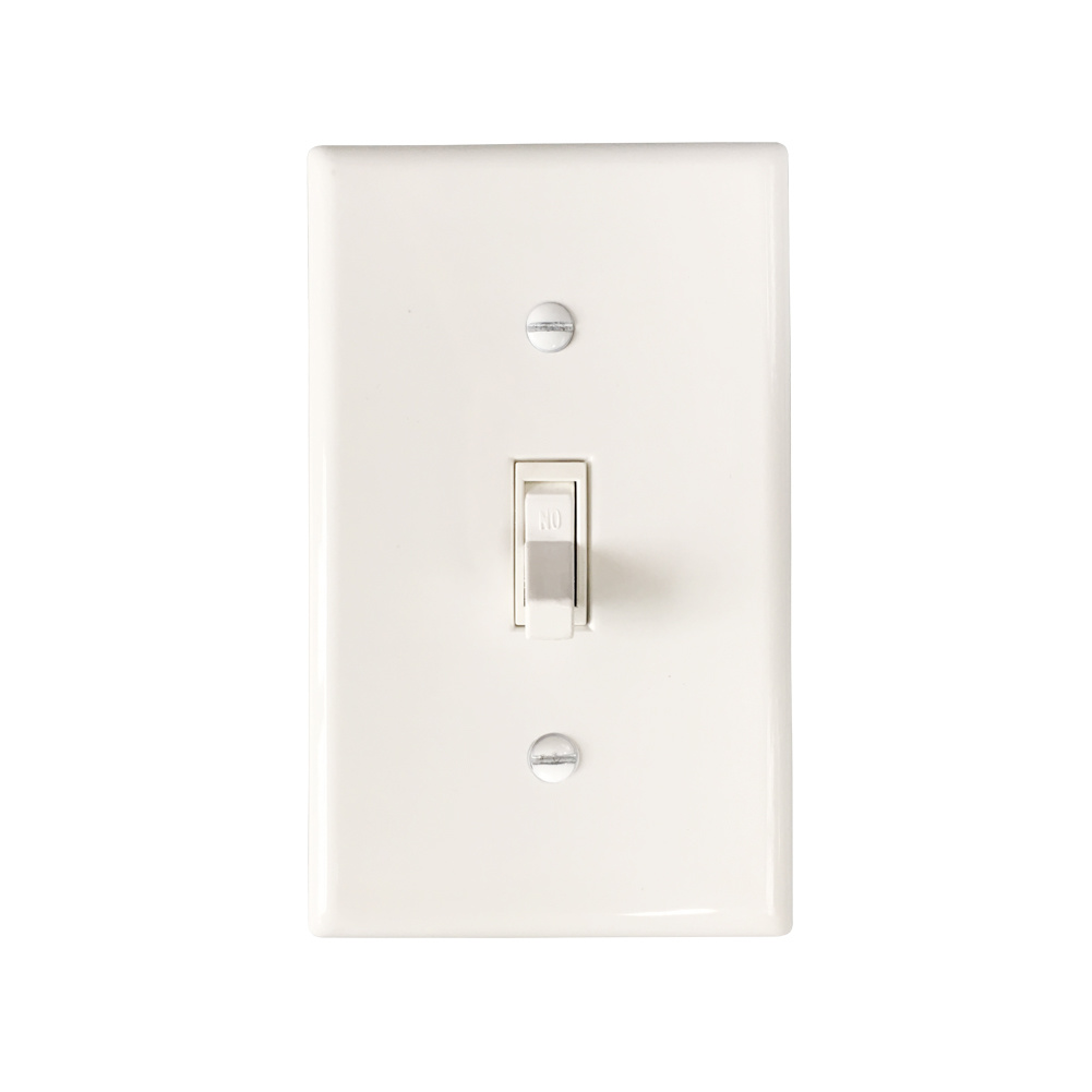 Smart Expo - American Toggle Framed Single-Pole AC Quiet Switch UL ...