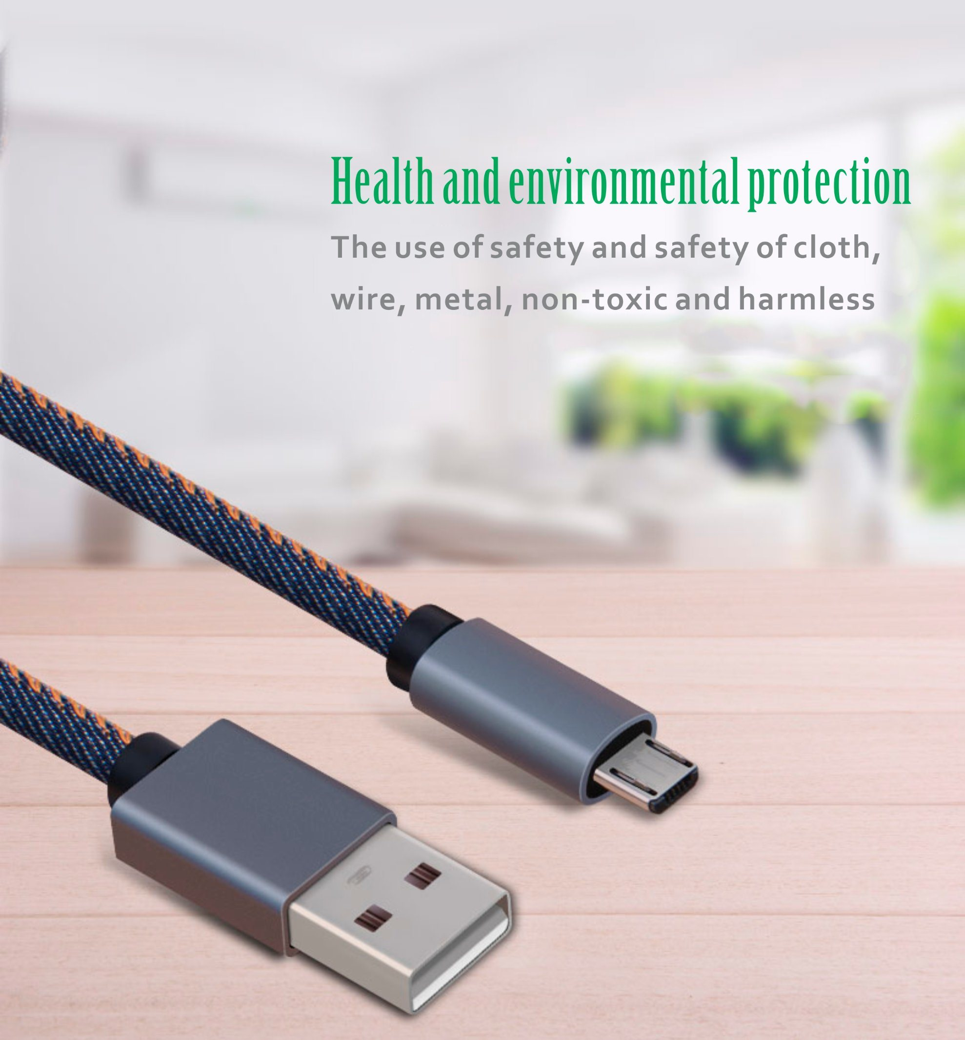 Smart Expo Denim Jean Usb Data Charge Cable For Micro 5pin 8pin Wiring Red Green White Black Whiteblackpink Greenredgreen