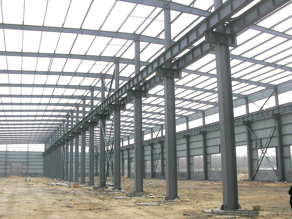 Steel Structure Project in Qatar for Qatar Building Engineering Company