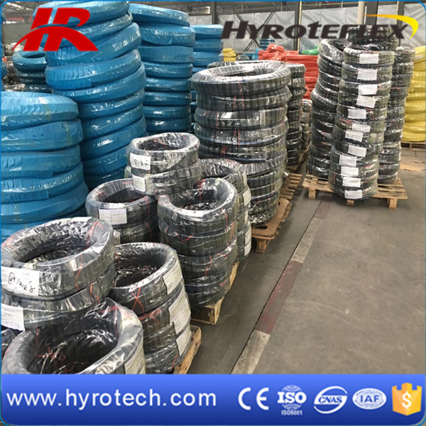 High Pressure Hose SAE 100r15 with Six Spiral Steel Wire