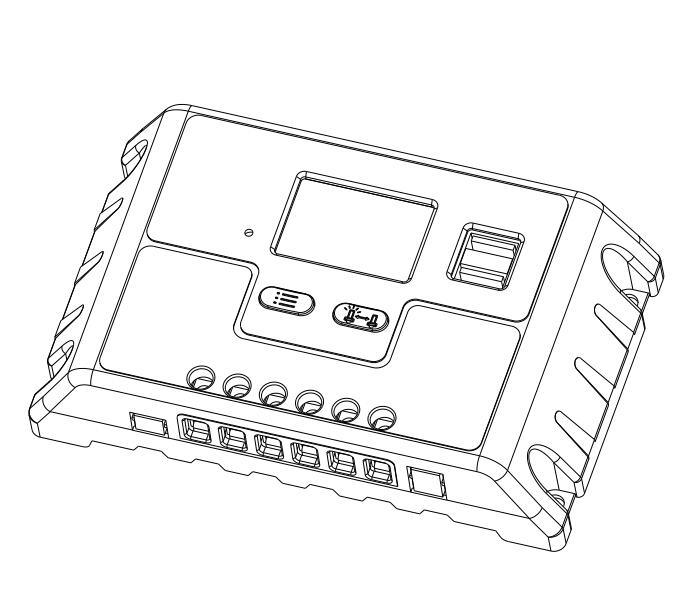 12v 24v 48v 30un pwm controlador de carga solar  u2013 12v 24v