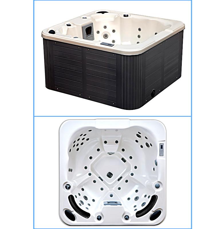Venta caliente bañera de hidromasaje para 4 personas Bañera – Venta ...