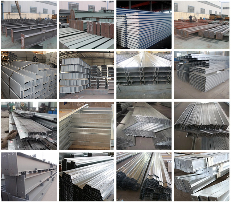 Light Agricultural Architecture Steel Structure Frame Buildings