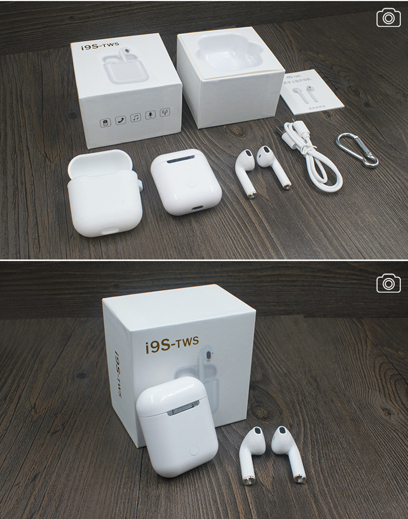 Good Quality Bluetooth Headset Earphones-I9s Tws Accpet Ios/Android