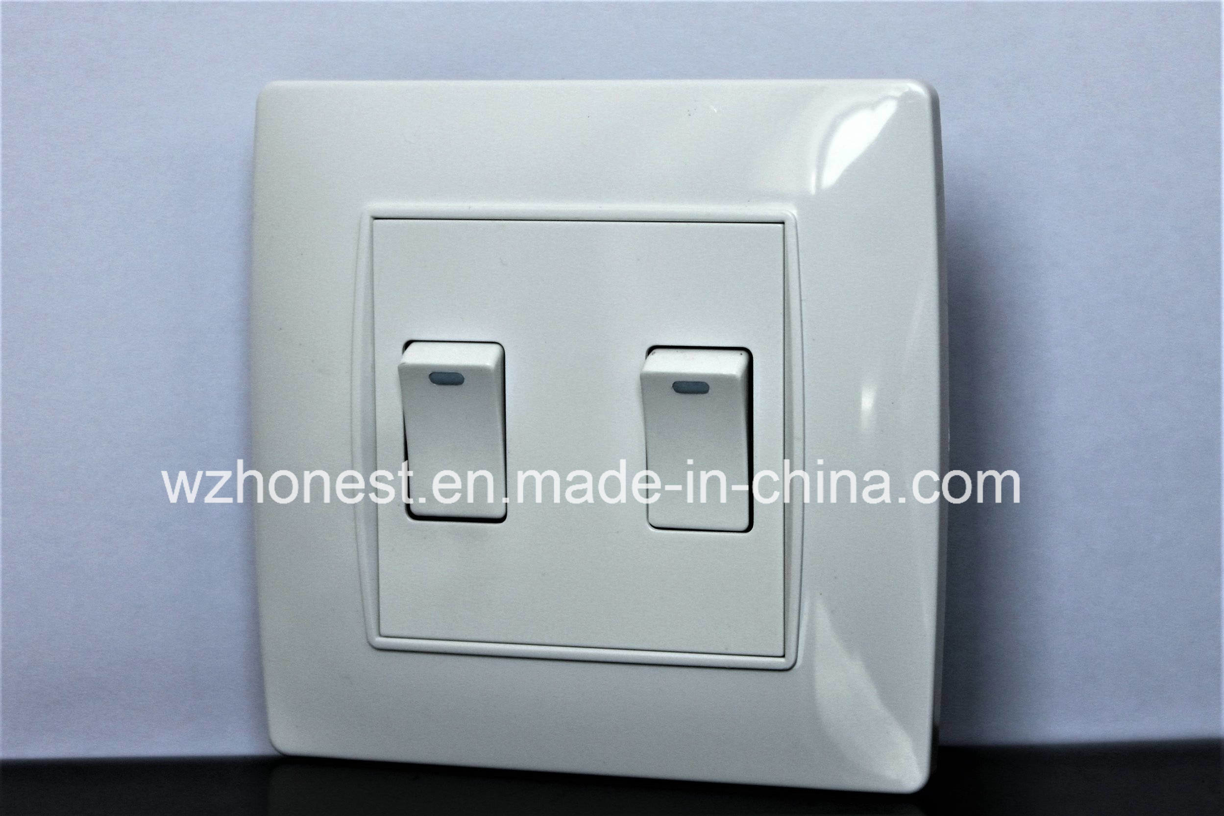 best sell luxury smart electric wall switch for home use 1 gang one