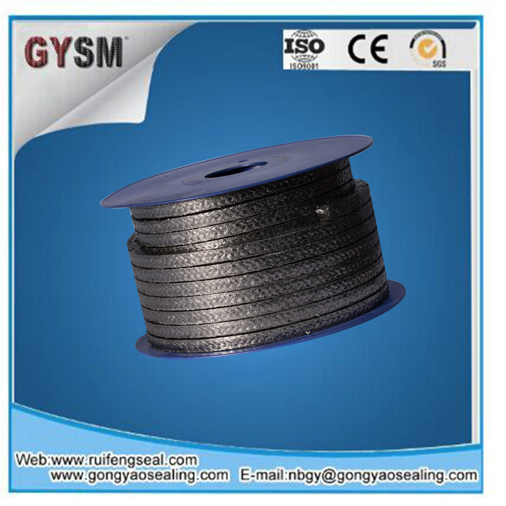 Flexible Graphite Packing For High Temperature And Pressure Wiring Die Formed Ring Packinggraphite Reinforced With Metal Wiregraphite Carbon Fiber Cornersgraphite Ptfe