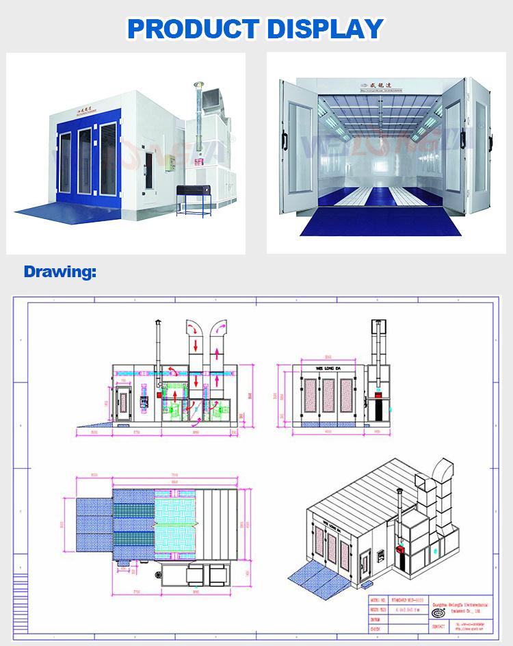 Migliore cabina della vernice di qualit del ce wld9000 for Costruttori di cabina del minnesota