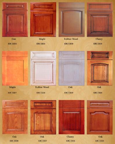 Las puertas del armario de cocina de madera maciza de - Armarios de madera maciza ...