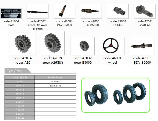 Tractor Parts Names : Japonês teclas yarmar kubota partes separadas do trator