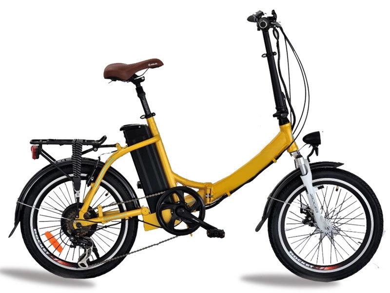 Falten Elektrische Fahrrad Mit Pedal 350 W Elektro-scooter Roller